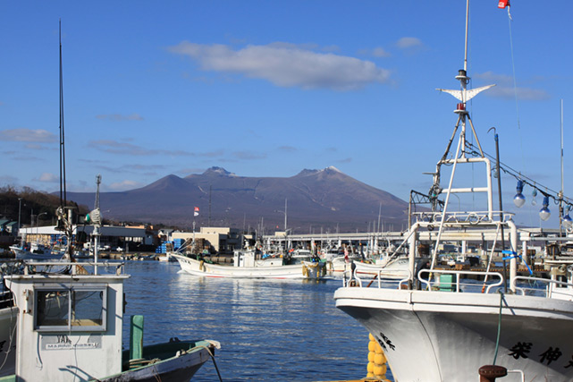 Shikabe Fishing Port