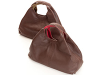 Deerskin Triangle Tote Bag